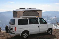 COLORADO CAMPER VAN Chevy Astro poptop
