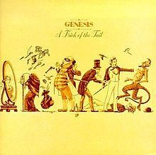 Genesis - A Trick of the Tail,  The first album without Peter Gabriel and the beginning of a new era for the band.