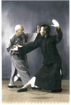 Chinese Kung Fu Tai Chi  Chen Wei Ming and Leung King Yu