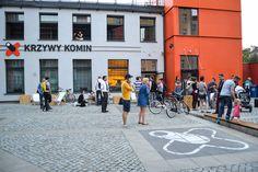 Centrum Designu  CRZ Krzywy Komin ul. Dubois 33-35a Wrocław Wydarzenie rowerowe