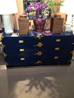 Bungalow5 blue dressers, 2 combined