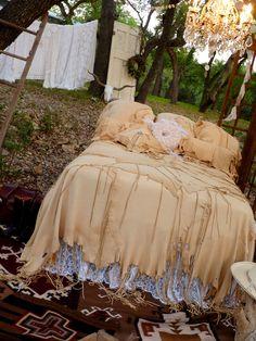 Deerskin Bedspread or Throw