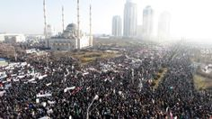"""Hundreds of thousands have flooded the streets of Chechen capital of Grozny in a rally against the publication of the Prophet Muhammad by Charlie Hebdo magazine. The demo, dubbed """"Love to Prophet Mohammed,"""" was organized by region's clerics. About 1 million people, residents of Chechnya and other Russian Caucasus republics, gathered for the rally, the […]"""