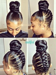 Simple and Stylish Tips: Wedge Hairstyles For Thick Hair loose waves hairstyle.W… Simple and Stylish Tips: Wedge Hairstyles For Thick Hair loose waves hairstyle. Black Hair Hairstyles, Braided Bun Hairstyles, My Hairstyle, Girl Hairstyles, Wedge Hairstyles, Hairstyles 2016, African Hairstyles, Hairstyles Pictures, Braided Updo