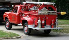 Nice there now son. Chevy Pickup Trucks, Tow Truck, Ford Trucks, Fire Dept, Fire Department, Brush Truck, Chevrolet Van, Emergency Equipment, Fire Equipment