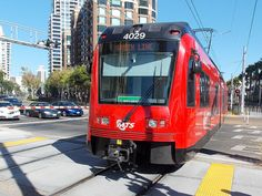 These are 81 feet and are identical to the 3000 series except for the length. These cars are being used to phase out the cars. Metro Rail, Rail Train, Light Rail, Cnd, San Diego, Transportation, Around The Worlds, California, Urban