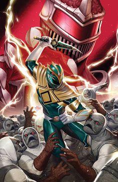 Power Rangers Fan Art, Power Rangers Comic, Mighty Morphin Power Rangers, Robert E Howard, Vr Troopers, Green Power Ranger, Tommy Oliver, Pawer Rangers, Greek Mythology Art