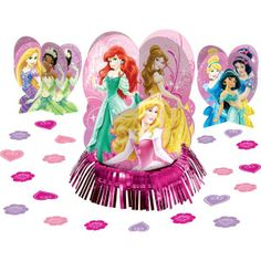 Disney Princess Table Decorating Kit 23pc