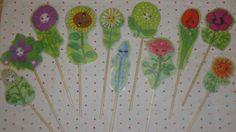 Flower Friends Puppets