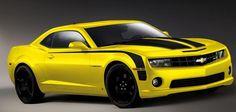 2014 Chevrolet Camaro Bright Yellow