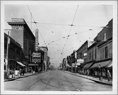 [Street scene, showing the Hippodrome Theatre] Eutaw Street looking north from Baltimore Street, Baltimore, Maryland circa 1925