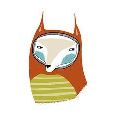 The Stripey Fox - Folksy