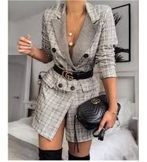 2020 En Sik Ceket Elbise Modelleri Sik Kiyafetler Moda Stilleri Elbise Modelleri