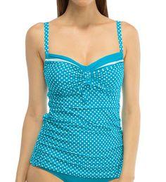 Coco Reef Valley Dot Smooth Curves Tankini Swim Top U52682 - Coco Reef Swimwear