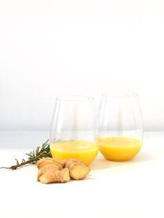 Ingredients: Large knob of ginger Freshly squeezed orange/lemon/apple juice Method: blend for 2-4 minutes —————— Benefits of ginger shot: Supports healthydiges…  #ginger #gingershot #healthy #vegan #immune #winter #coldremedies