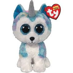 "Dotty Beanie Boo Medium 13/"" Stuffed Animal By Ty 37074 Play Toy New"
