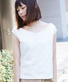 The Dayz tokyo(ザ)のオフショル2WAYカットソー(Tシャツ/カットソー) ホワイト