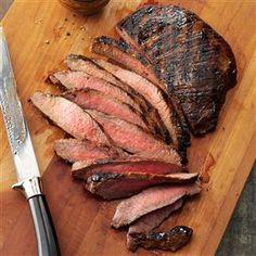 Grilled Tender Flank Steak Recipe