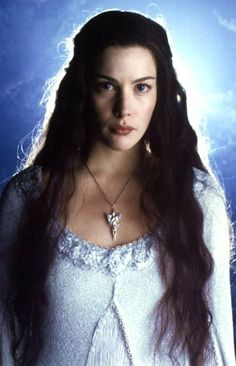 Liv Tyler as Arwen in the film 'Lord of the Rings' Legolas, Tauriel, Gandalf, Lord Of Rings, Fellowship Of The Ring, Das Silmarillion, Arwen Undomiel, O Hobbit, Middle Earth