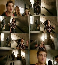 "S4 Ep4 ""The Benefactor"" - Kira and Liam. Kira's somewhat like me, we're both clumsy"
