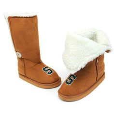 Michigan State Spartans Boots..WANT!!!