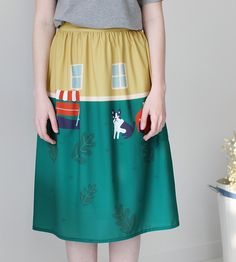 Neverland collection my sweet home living room skirt