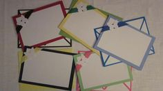 Fun Colored Note Cards by SuSuzTreasures on Etsy, $7.50