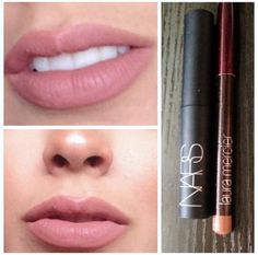 Love this one!! Nars color MADERE & laura mercier NATURAL LIPS