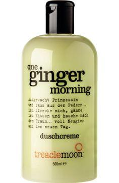 Die treaclemoon Duschcreme one ginger morning ist frisch und aktivierend. Ihr frischer Ingwerduft weckt selbst müdeste Geister und beschert Ihnen einen...