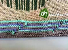 Afbeeldingsresultaat voor ah tas haken Jute, Chevrolet Logo, Fiber Art, Knit Crochet, Crochet Bags, Purses And Bags, Mosaic, Quilts, Embroidery