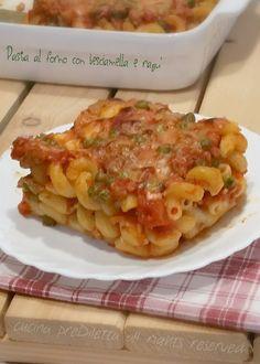 Pasta al forno con besciamella e ragù, ricetta, cucina preDiletta