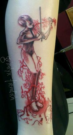 the White Violin.. TUA tattoo!!!