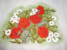Riscos e Pinturas que ja pintei!!! Flores… | Criar e Pintar