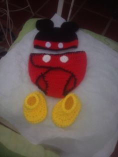 Conjunto Mickey Mouse para bebe