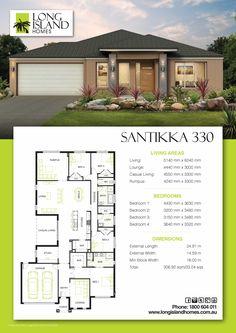 Santikka 330 Modern Small House Design, Duplex House Design, Modern House Plans, House Floor Plans, Sims Building, Building Plans, Building A House, House Layout Plans, House Layouts