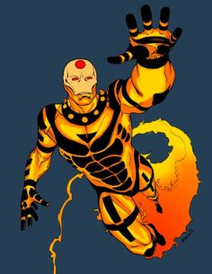 Sunfire (Shiro Yoshida) (Horseman of Apocalypse - Famine) | art by Robert Atkins