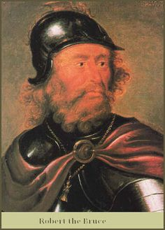 Scotland's hero King, the renowned Robert the Bruce, was born into the Scottish nobility on 11th July, 1274, at Turnberry Castle in Carrick, Ayrshire.