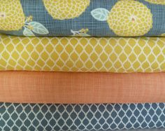 Popular items for gray and peach on Etsy