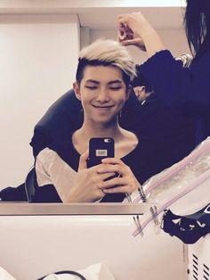 BTS Rap Monster , Kim Nam Joon Cute smile