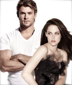 Chris Hemsworth and Kristen Stewart