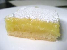 Lemon Lovers' Lemon Bars..Let's see if this is better than the recipe I usually use