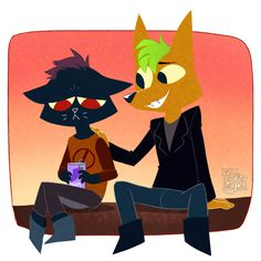 Doodle || Jack's Night In The Woods by FloatingMegane-san.deviantart.com on @DeviantArt