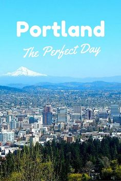 Experience the perfect day in Portland Oregon - the way a local would.  From loaded waffles to forest walks and delicious drinks, you are sure to have a fun-filled day!