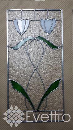 """Stained Glass Panel """"Sweet Daisy"""" - Delphi Artist Gallery"""