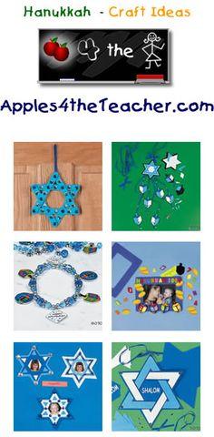 Fun Hanukkah crafts for kids - Hanukkah craft ideas for children. Hanukkah Crafts, Jewish Crafts, Preschool Christmas Crafts, Hanukkah Decorations, Holiday Crafts For Kids, Christmas Hanukkah, Hannukah, Holiday Fun, Kids Crafts