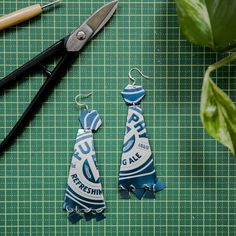 BEERrings up-cycled earrings with Emma Grace — The Windsor Workshop - Creative Space - Workshops and Events