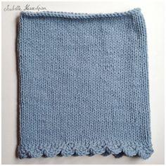 isabelle kessedjian - snood au tricot : tutorial