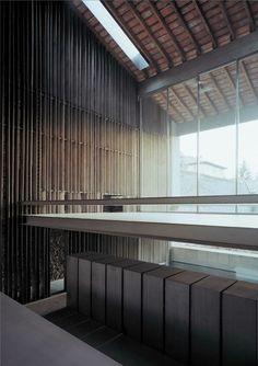 RCR Arquitects' row house renovation in Olot. Girona, Catalonia