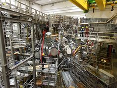 Fusion Stellarator Wendelstein 7-x Fires Up for Real - IEEE Spectrum Angela Merkel, at a ceremony at the Max Planck Institute for Plasma physics in Greifswald in Germany, pressed a button that caused a two-megawatt pulse of microwave radiation to heat hydrogen gas to 80 million degrees for a quarter of a second.