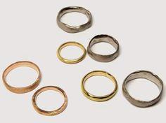 Katherine Bowman: Hand made wedding rings